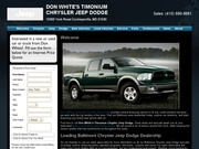 Don White's Timonium Chrysler Jeep and Dodge