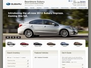 Beardmore Subaru Website