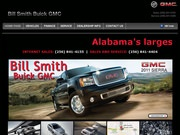 Bill Smith Pontiac Buick GMC Website
