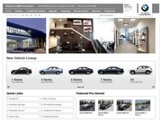 BMW of Columbus Website