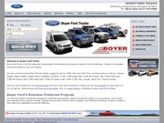 Boyer Ford Website
