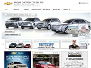 Brown Chevrolet of Del Rio Website