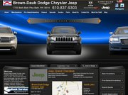 Brown-Daub Dodge Website