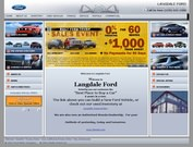 Langdale Ford Co Website