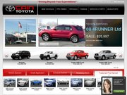 Cain Toyota BMW Website