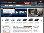 Caldwell Toyota Website