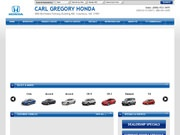 Carl Gregory Honda