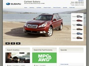 Carlsen Subaru Website