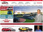 Crown Toyota Dealership Website
