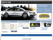 Desert Audi Website