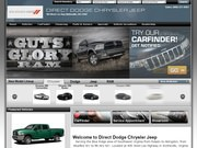 Direct Dodge Chrysler Jeep Website