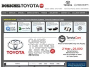 Dorschel Toyota Website