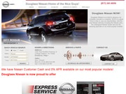 Douglas Nissan Website