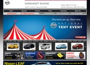 Earnhardt's Nissan Website