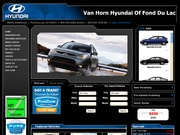 Van Horn Hyundai of Fond Du Lac Website