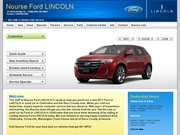 Nourse Family of Dealerships – Nourse Chevrolet Cadillac & Toyota Website