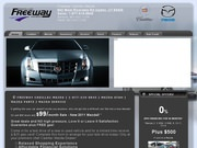 Freeway Cadillac Mazda Website