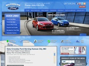 Gary Crossley Ford Website