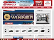 Gettel Toyota-KIA Website