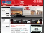 Glenn Toyota Website