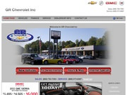 G R Chevrolet Website