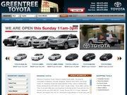 Greentree Toyota Website