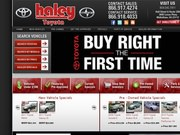 Haley Toyota Website