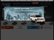 Rick Hendrick Chevrolet Website