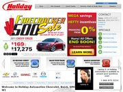 Holiday Automotive Buick Pontiac GMC Sales