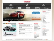 American Honda Motor CO Website