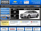 Huber Chevrolet Cadillac Website