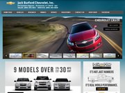 Jack Burford Chevrolet Inc Website
