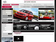 Jim Burke Nissan Website