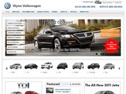 Jim Wynn Volkswagen Website