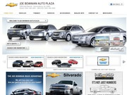 Joe Bowman Chevrolet Cadillac Website