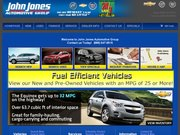 John Jones Chevrolet Pontiac Buick Website