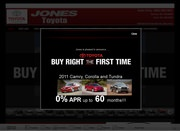 Jones Chrysler Plymouth Toyota