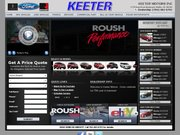 Keeter Ford Lincoln Website