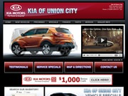 Kia of Union City Website