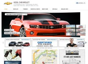 Kool Chevrolet Website