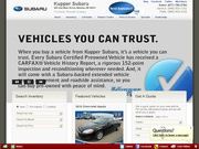 Ressler Subaru Website