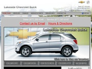 Lakeside Chevrolet Buick Inc Website