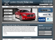 Landers Chrysler Dodge Jeep Website