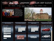 Landmark Chrysler Jeep Website
