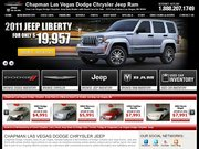 Chapman's Las Vegas Dodge Website