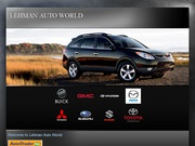 Lehman Auto World Website