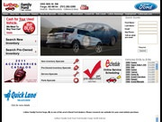 Luther Family Ford Website