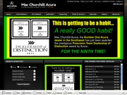 Mac Churchill Acura Website