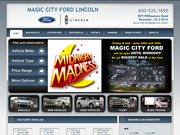 Magic City Ford Website