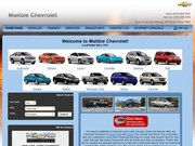 Maltbie Chevrolet Website